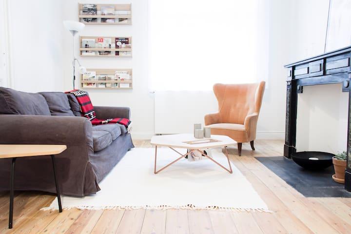 Private apartment between Saint-Gilles and Ixelles - Saint-Gilles - Flat