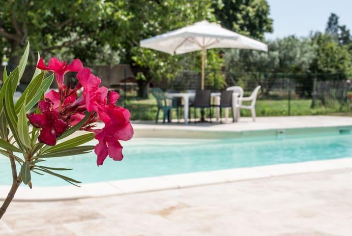 Gîte avec piscine le Pas des Lanciers ***