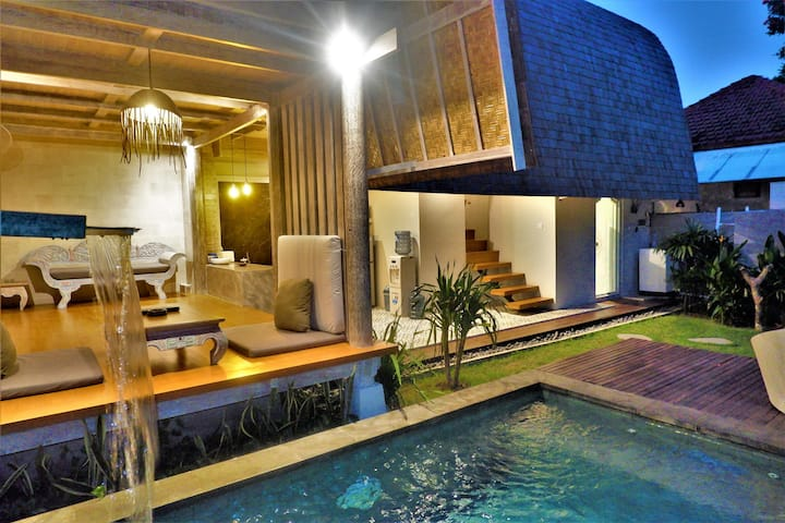 Newly Built Villa Made East Near Seminyak  Beach