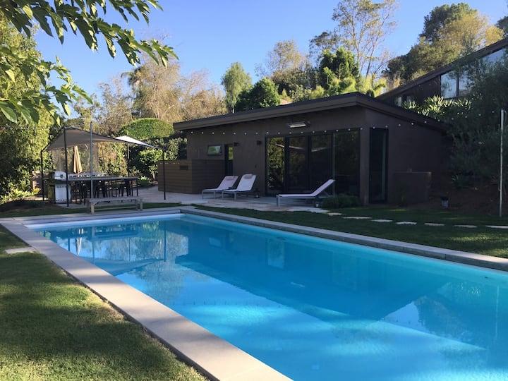 Montecito Cabana with Mountain Views & Pool