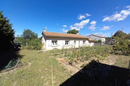 Maison independante avec terrain