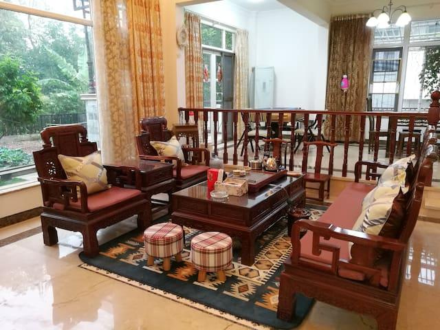 美林湖原木田园独栋五房七床别墅含早 - Qingyuan - House