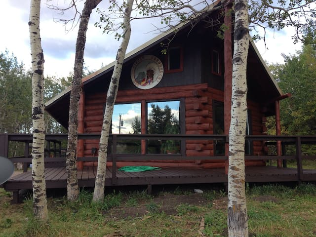 Swiftcurrent River Cabin
