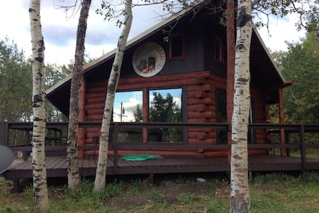 Swiftcurrent River Cabin - Babb - Casa