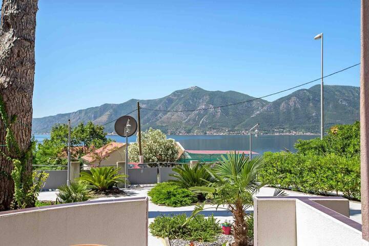 Sea View Garden Apartment  2  in Villa