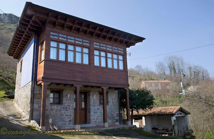 Casa rural L´Ablanu - La Canal - Huis