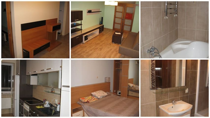 Nice warm apartment 3.4 km from city center