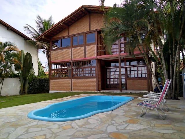 apartamento em frente a praia(andar superior)