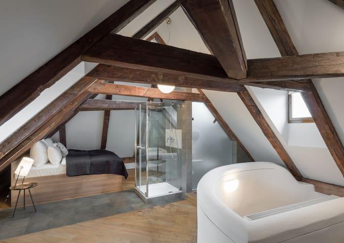 One Bedroom Duplex Apartment 3 Epoques