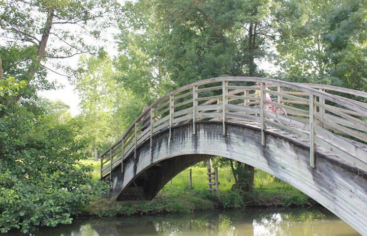 Vacances coeur du Marais Poitevin - Le Vanneau-Irleau - House