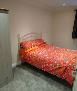 Spacious double, private kitchen and shower room.