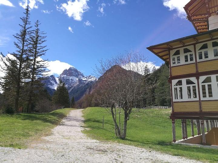Bilocale nelle Dolomiti - Fino a 7 posti letto
