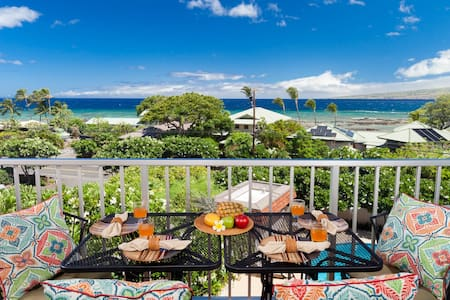 PUAKO CONDO 405~3 BR~Top Floor Ocean View~Pool