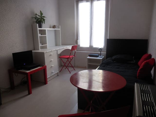 comfortable pied-a-terre in Romilly city center - Romilly-sur-Seine - Byt