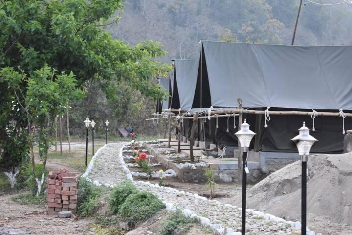 The Hinwal Tamarind Camp,Rishikesh
