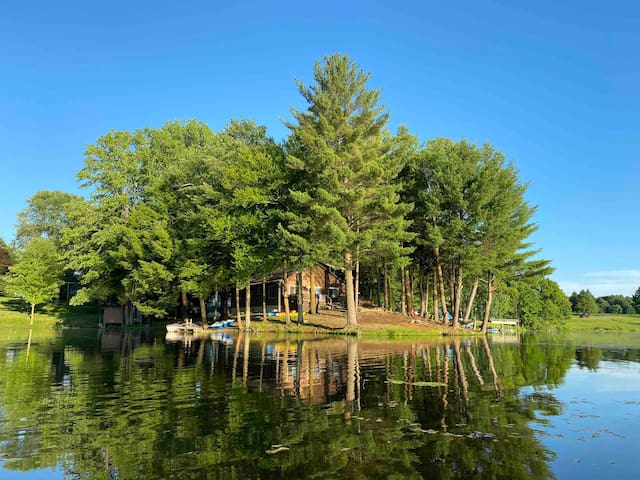 Lakefront, Sunsets, Comfort & Nature @ Mom&Pop's