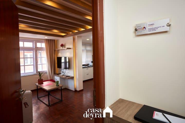 Modern Aesthetic 1BR Apartment by Casa Deyra
