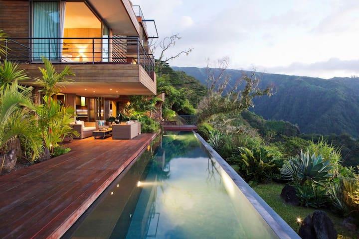 Villa d'architecte d'exception, unique à Tahiti - Papeete