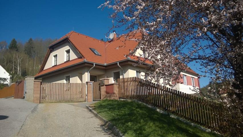 Spacious  Family house with wonderfull view. - Český Krumlov - House