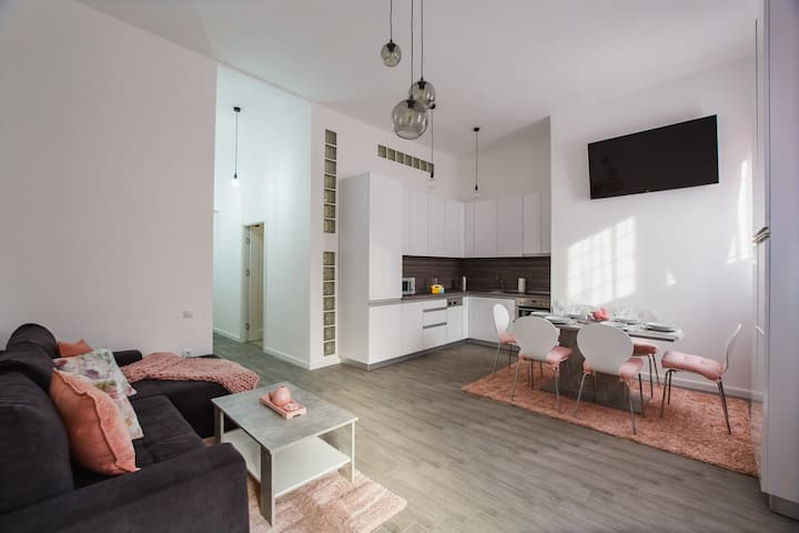 Stunning, Newly Renovated Central Apartment