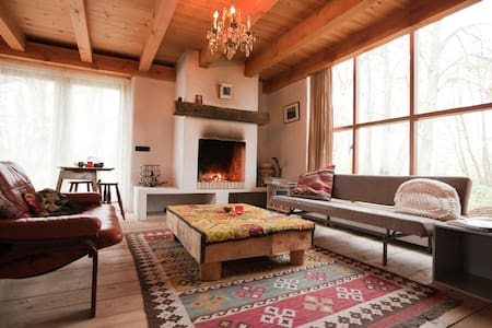 Fairytale cottage nestled between forest and village within cycling distance of Bergen aan Zee
