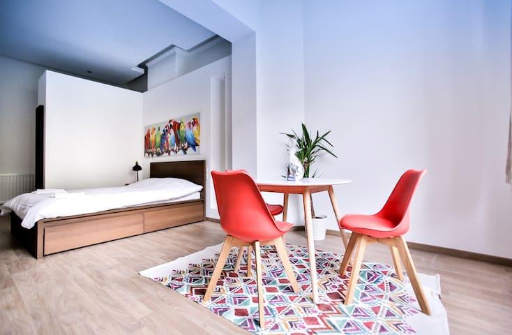 Superb studio in the trendy Ixelles