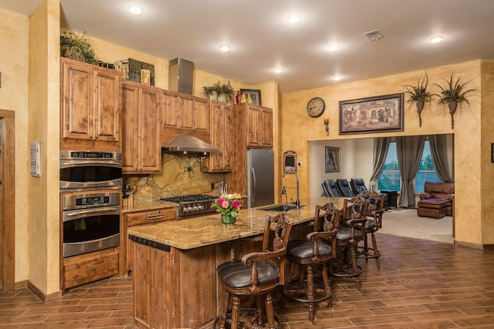 Divided Find Ranch Guest House on 1650 Acres