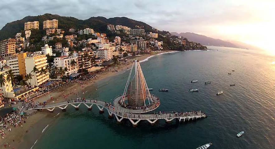 2 Bd/2 bath Best Old Town Location - Puerto Vallarta - Apartament