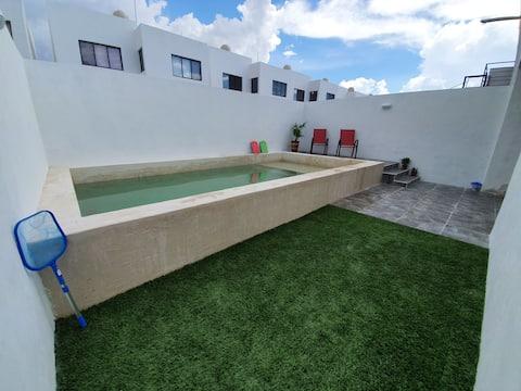 Belle maison avec piscine à Puerta de Piedra