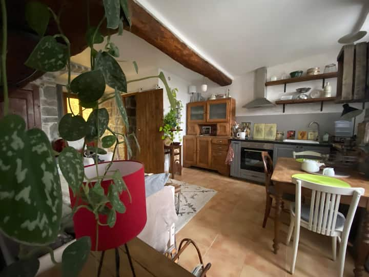 Appartement indépendant  dans le centre de Sauve