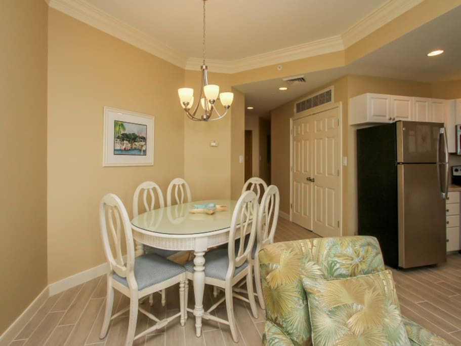 Dining Area at 2510 Sea Crest