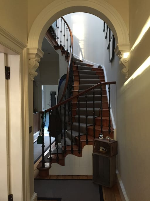 Hall and stairwell