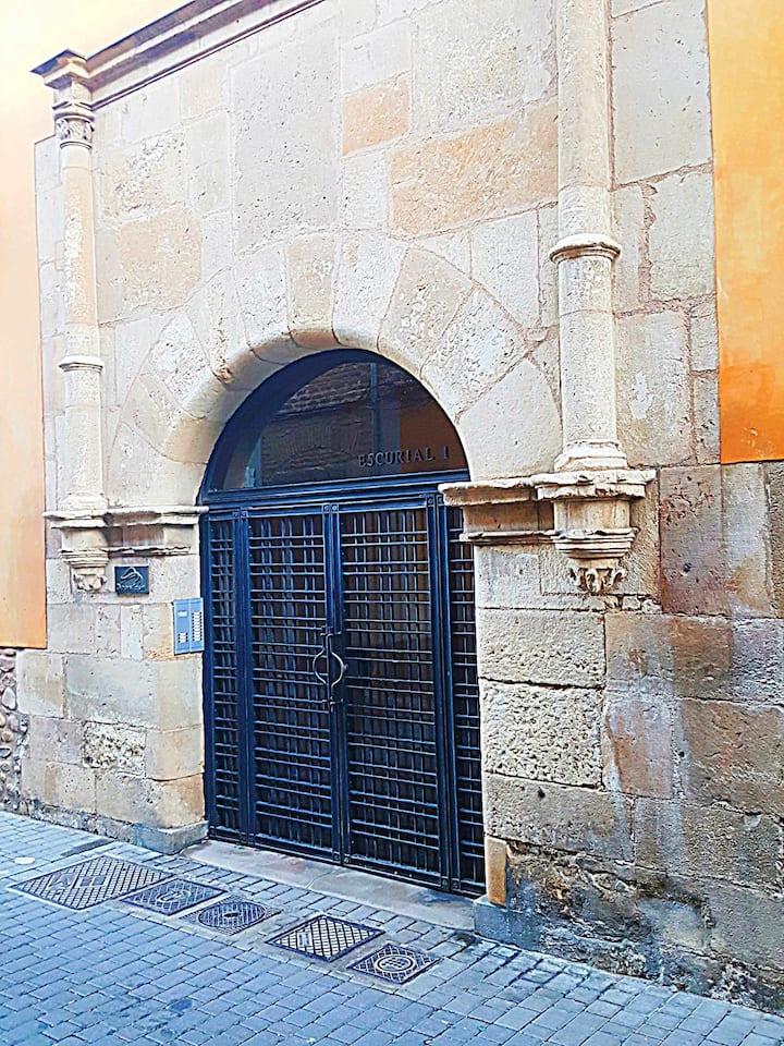 Apartamento histórico Escurial 1