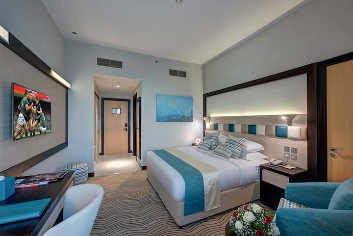 4 star hotel room, CAV3-Al Mateena-Deira, Dubai