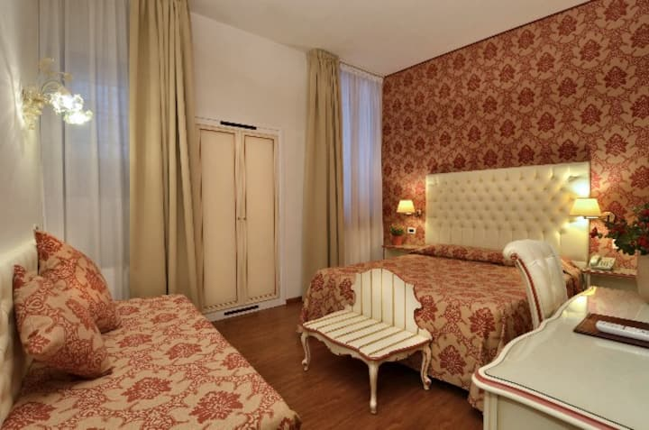 Double and Triple Room large and comfortable