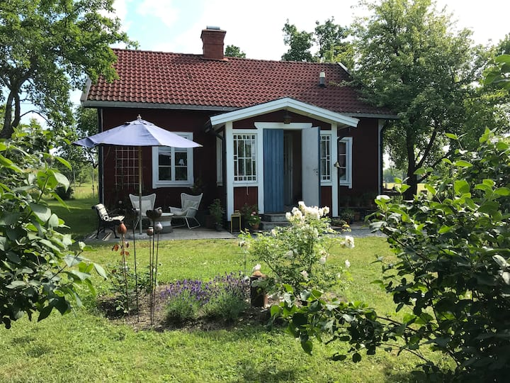 Old style country house close to lake Mälaren
