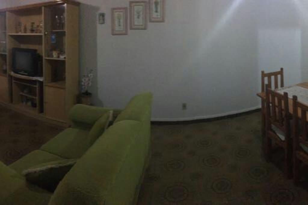 Sala com dois ambientes!