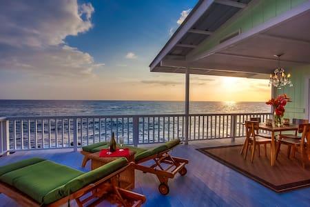 Stunning Oceanfront Cottage - 카일루아-코나 - 단독주택
