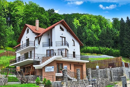 Charming Villa in a Private Mountain Resort - Timișu de Jos - วิลล่า