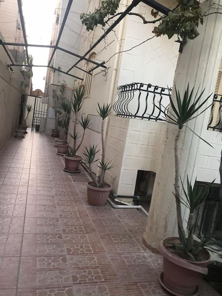 Private apartment in villa in Tagamoa , new Cairo.