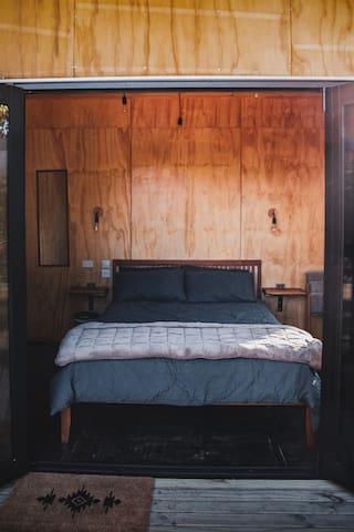 Master bedroom - no ladder to climb :)