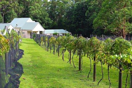 The Retreat at Lyrebird Ridge Organic Winery