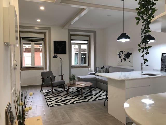 Marquês de Pombal - Bright and spacious flat
