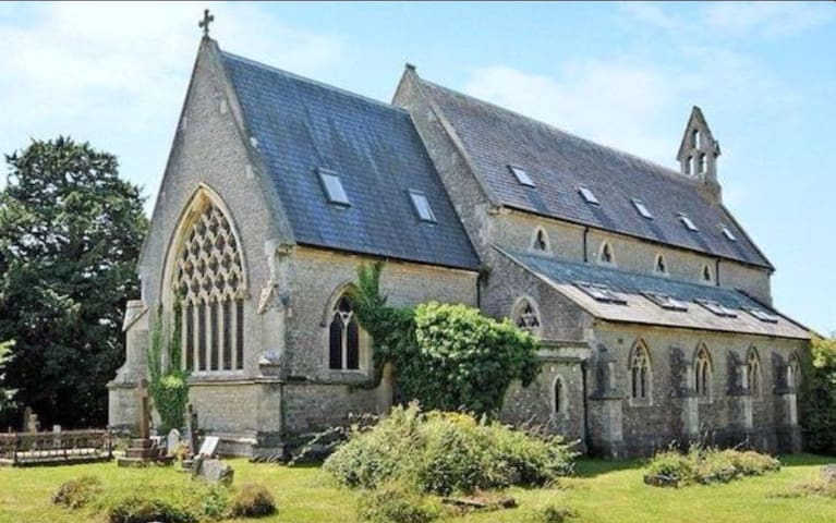 Victorian church in Wiltshire - Heywood - House