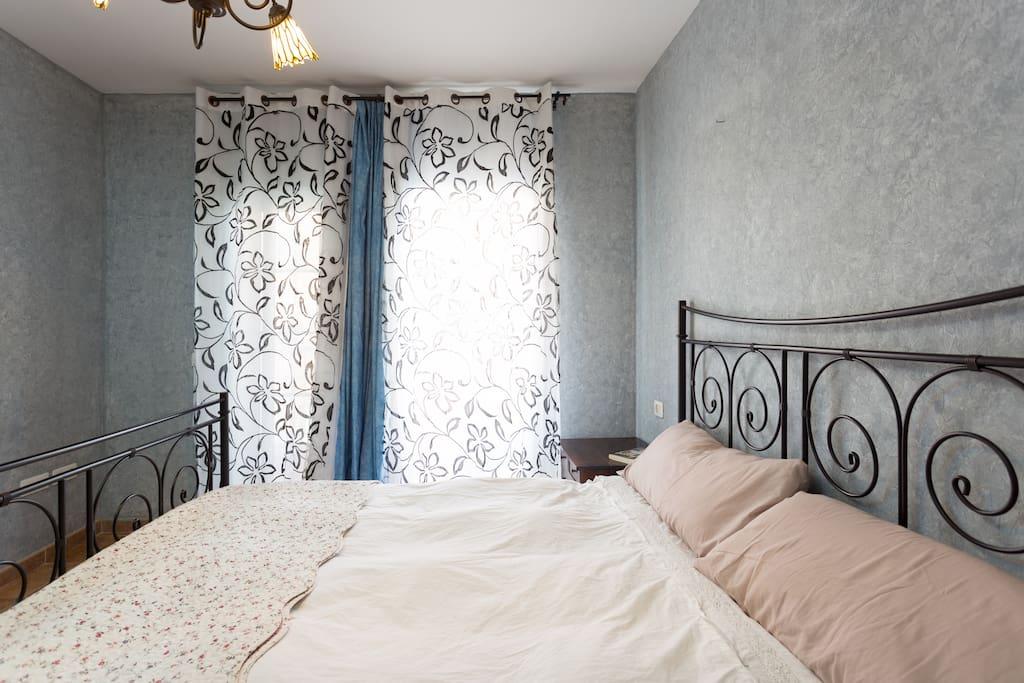 doble cortina para día y noche