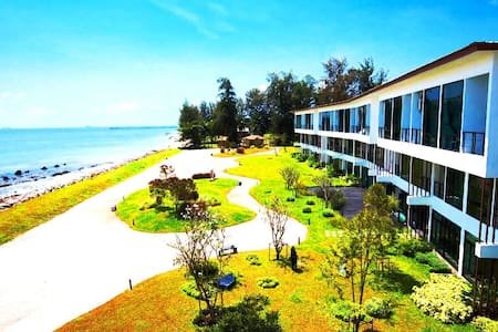 The  Beach Resort and Residence  with Garden View