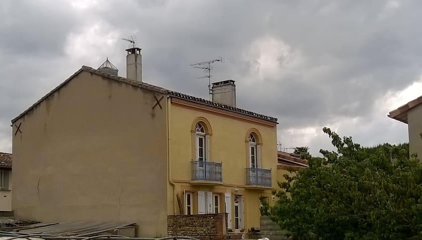 Maison de charme à Grenade/Garonne - Grenade - Adosado