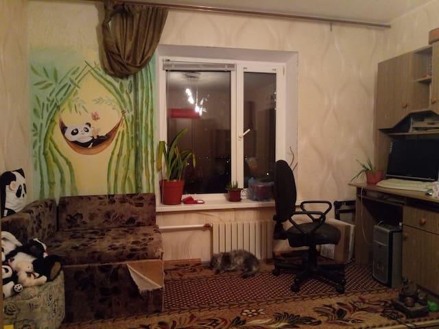 Комната,где может остановиться гость.