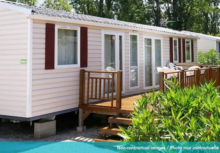Mobil home Elegance with 3 bedrooms (8 pers) terrace