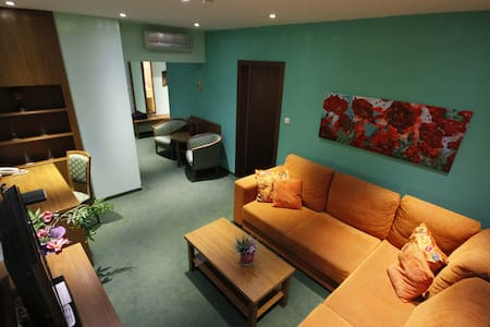 Cozy hotel apartment with balcony, free parking - Bratislava - Appartement